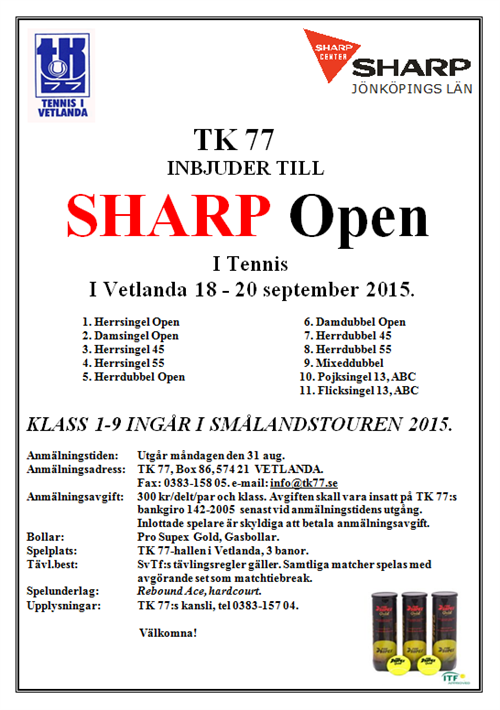 Sharp Open 2015